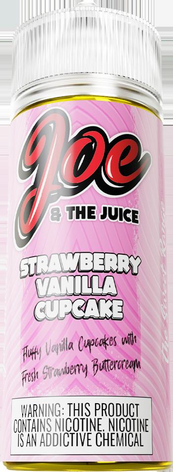 Joe & The Juice Strawberry Vanilla Cupcake 120ml