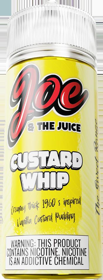 Joe & The Juice Custard Whip 120ml
